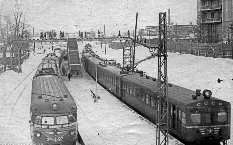 216. Платформа Савеловская, 1961 год.