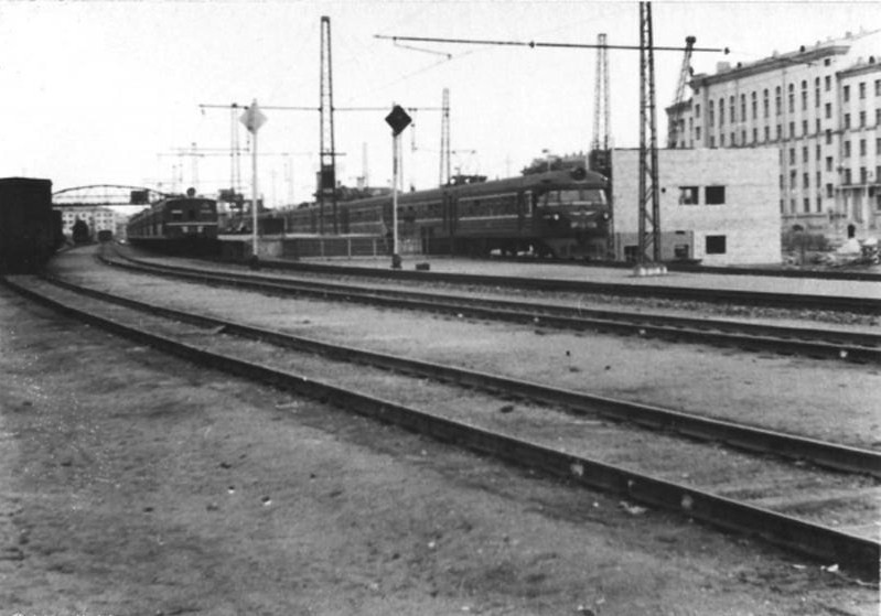 247. Станция Тушино, 60-е годы.