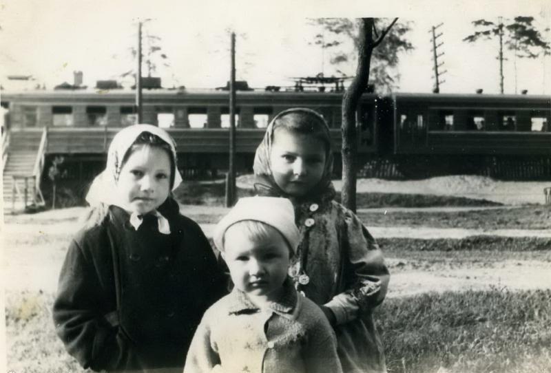 266. Платформа Дзержинская ветви Бескудниково-Лосиноостровская, 60-е годы.