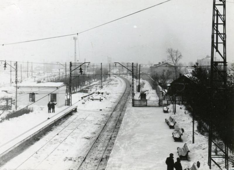 16. Станция Люблино, 1969 год.