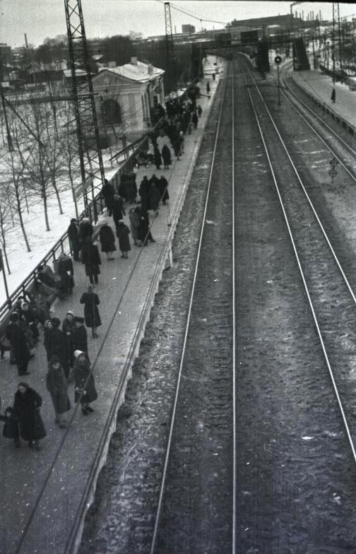 90. Платформа Рабочий Поселок, 60-е годы.