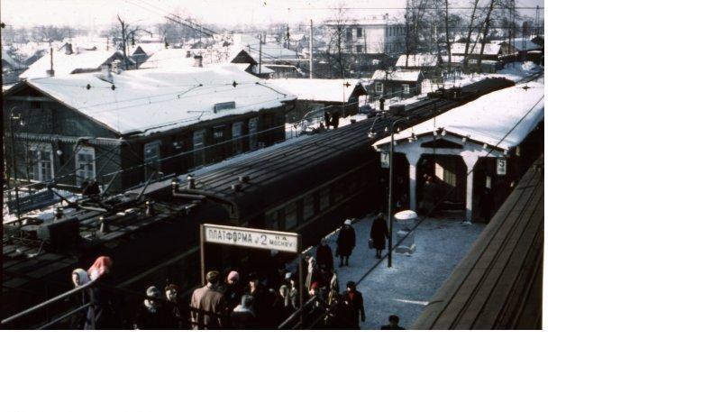 120. Ж.д.станция Железнодорожная, 1962 год.