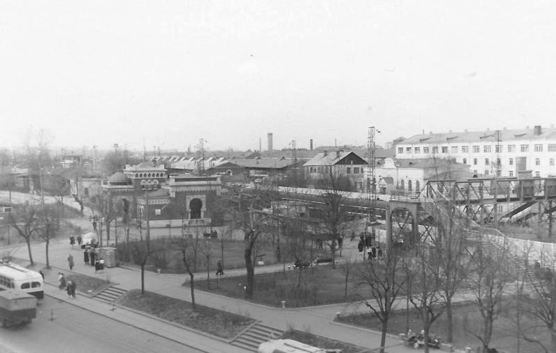 21. Платформа Каланчевская, 1963 год.