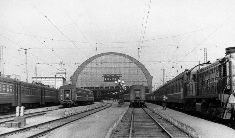 41. Станция Москва-Киевская, середина 60-х гг.