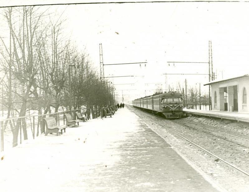 70. Платформа Новогиреево, 1963 год.