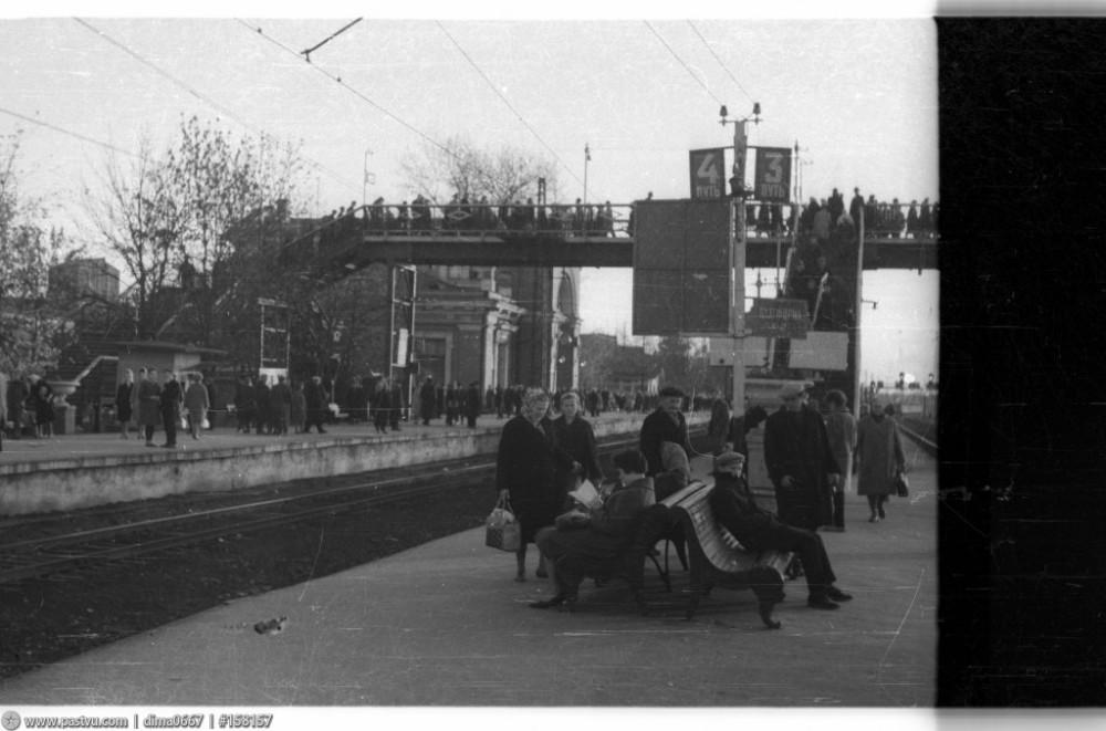92. Станция Мытищи, 1968 год.