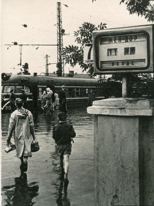 105. Курский вокзал, 1966 год.
