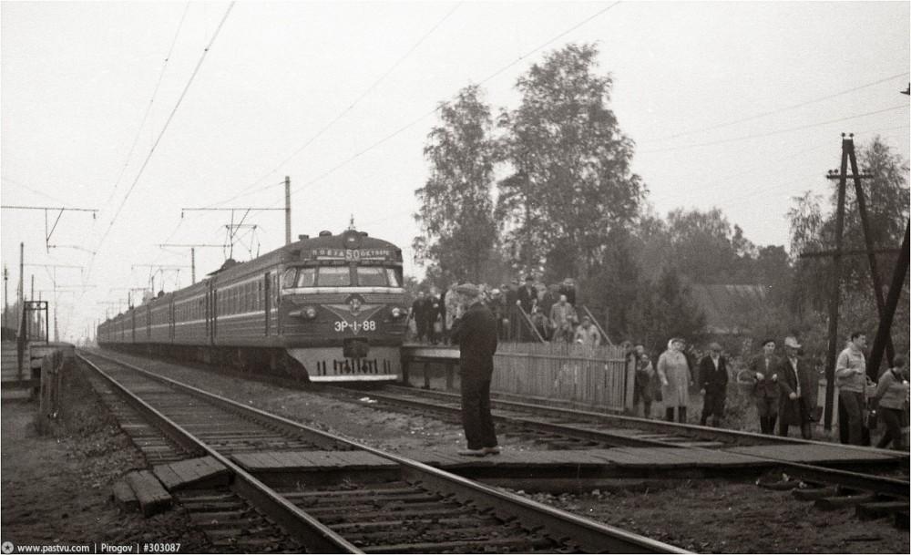 123. ЭР1-88, участок Люберцы-Куровская, 1969 год.