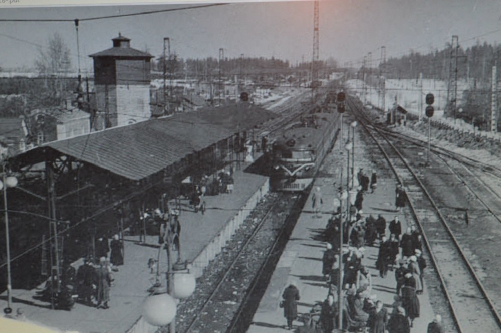 88. Ж.д.станция Голицыно, конец 60-х годов.