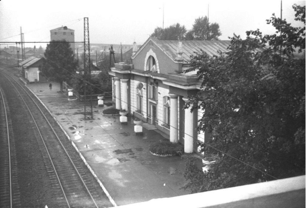 92. Ж.д.станция Тучково, 60-е годы.