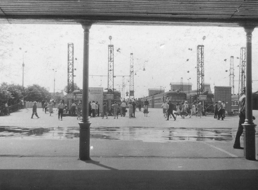 2. Павелецкий вокзал, конец 60-х годов.