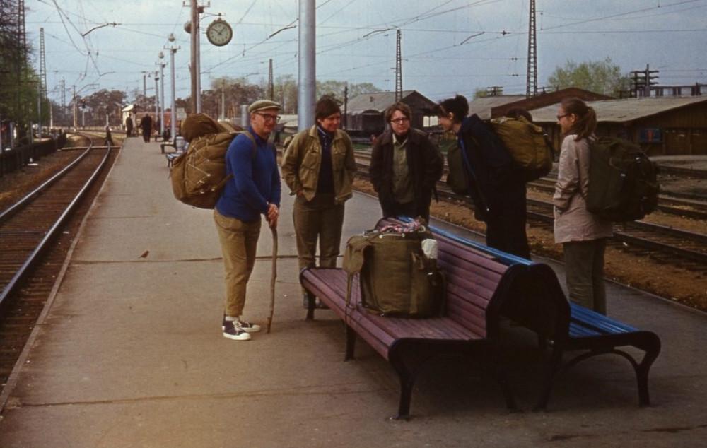 94. Ж.д.станция Хотьково, 1973 год.