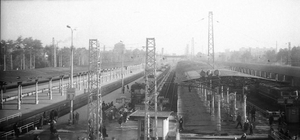 15. Ярославский вокзал, 1971 год.