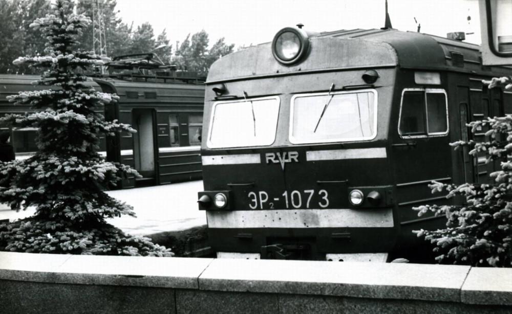 57. ЭР2-1073, ст.Клин, 70-е годы.