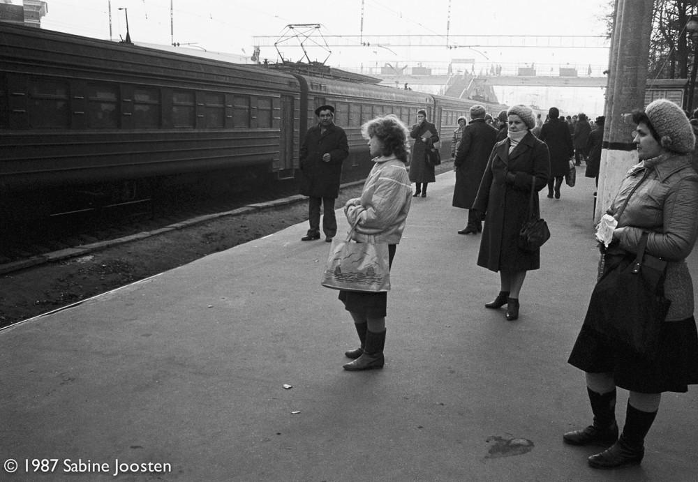 61. Белорусский вокзал, 1987 год.