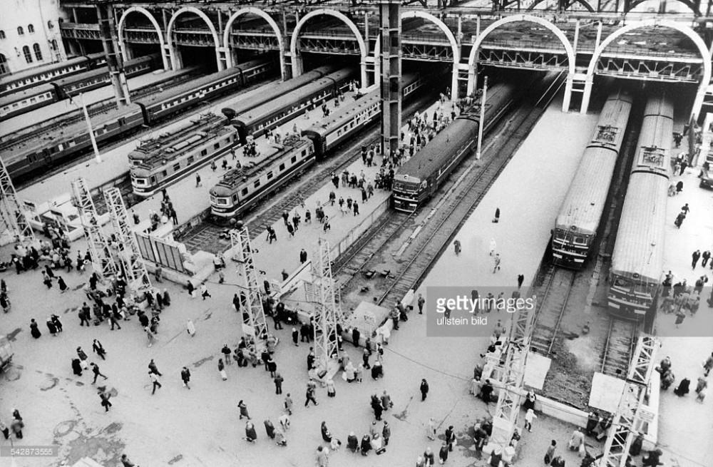 75. Казанский вокзал. 1988 год.