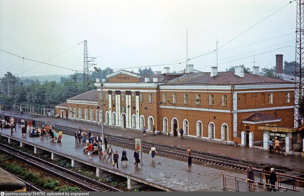 109. Ж.д.станция Можайск Мск.ж.д., 1983 год.