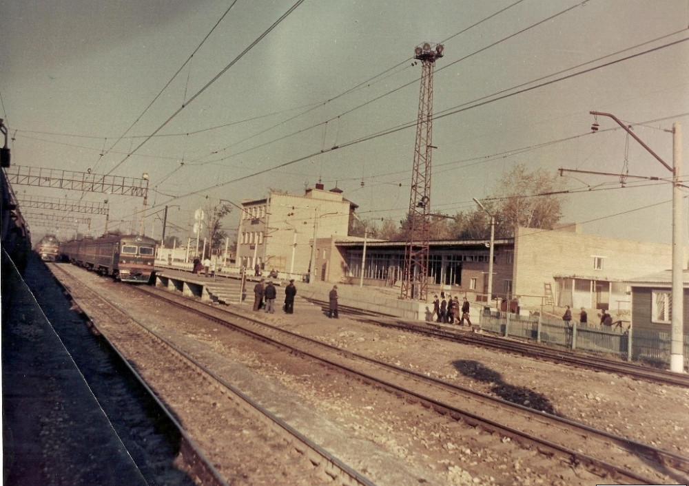 45. Ж.д.станция Куровская, 1983 год.