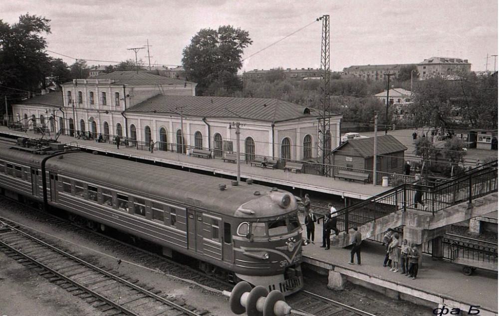 66. Ж.д.станция Павлово Посад, начало 70-х гоов.