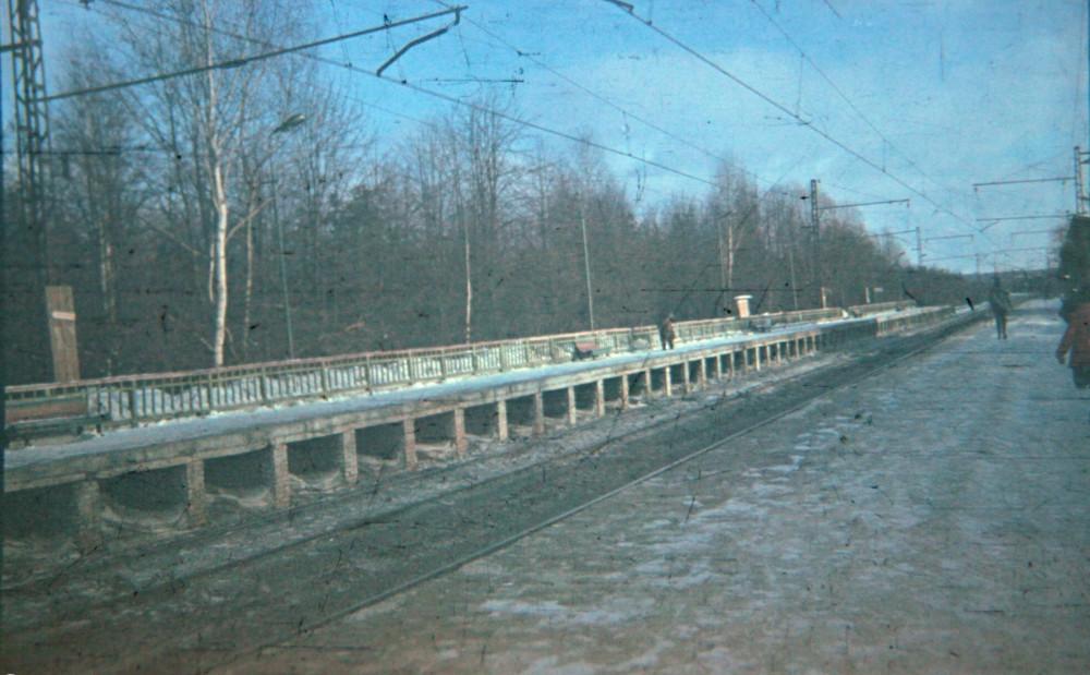 21. Платформа Мичуринец, 1979 год.