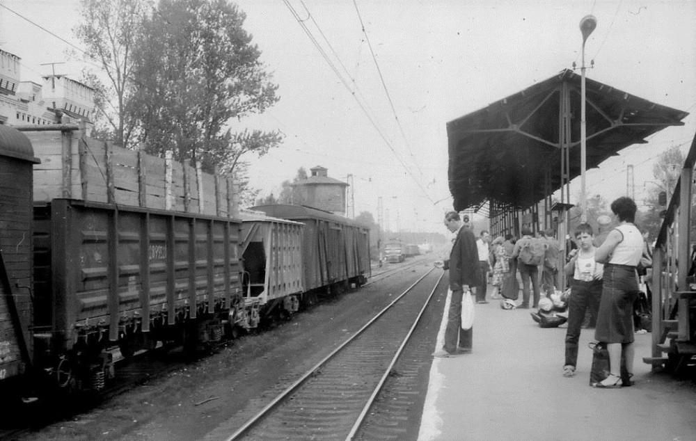 1. Ж.д.станция Голицыно, 1986 год.