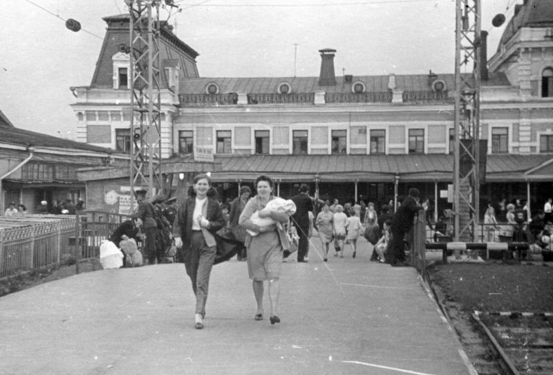 35. Павелецкий вокзал, 1970 год.