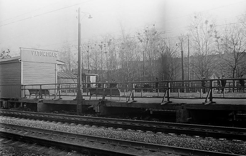 32. Платформа Ухтомская, 1970 год.