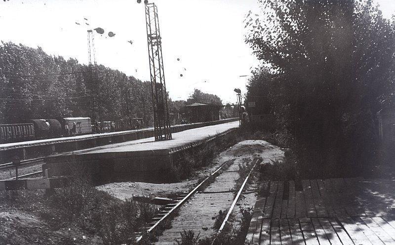 35. Станция Одинцово, 70-е годы.