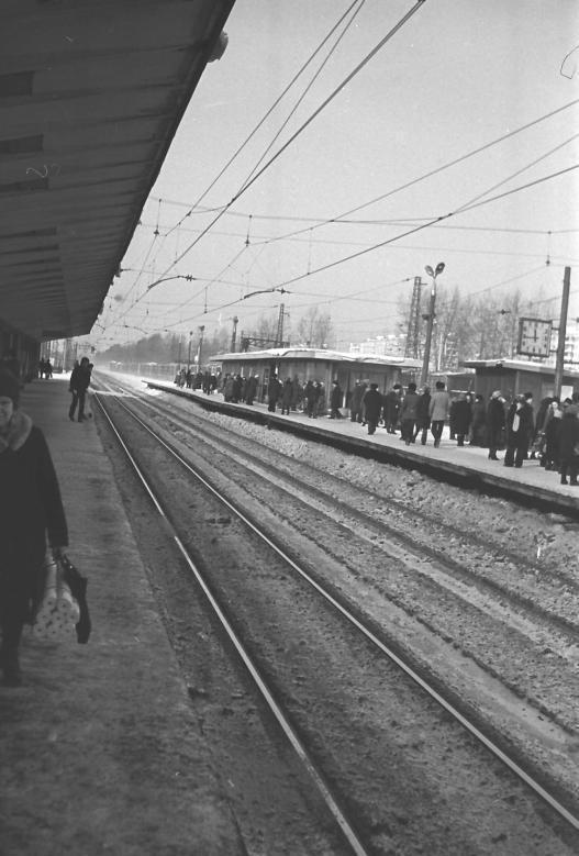 111. Платформа Ждановская, 1980 год.