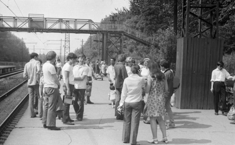 40. Платформа Сетунь, 1974 год.