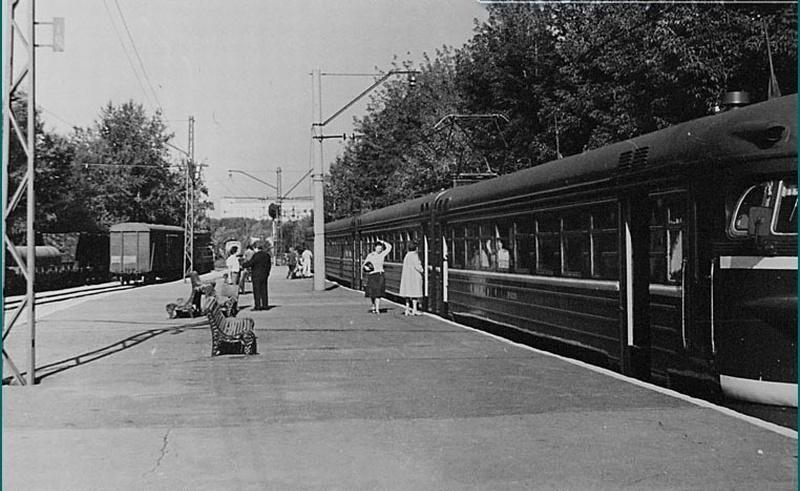 175. Ж.д.станция Институт Пути, 1978 год.