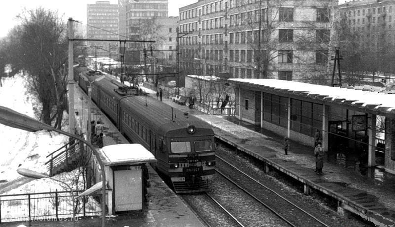 197. Платформа Красный Балтиец, 1985 год.