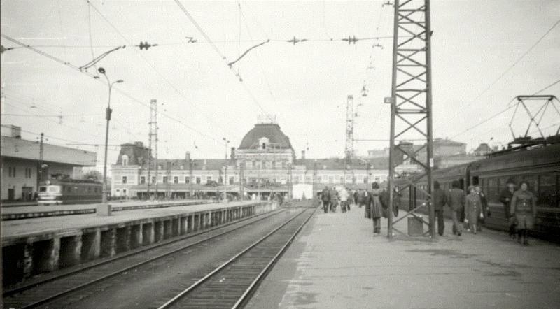 219. Павелецкий вокзал. 1979 год.