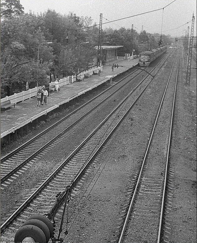 239. Платформа Тайнинская, 70-е годы.