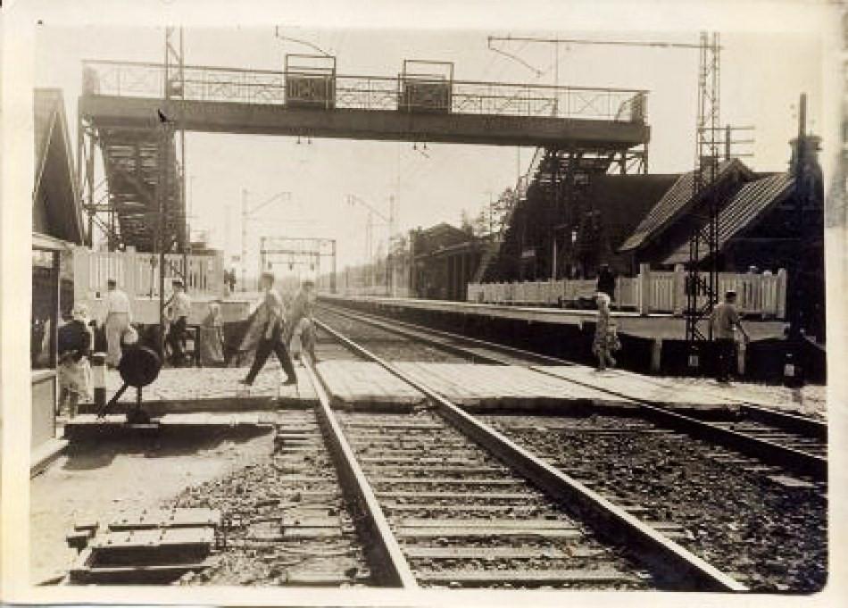 367. Платформа Тарасовская, 70-е годы.
