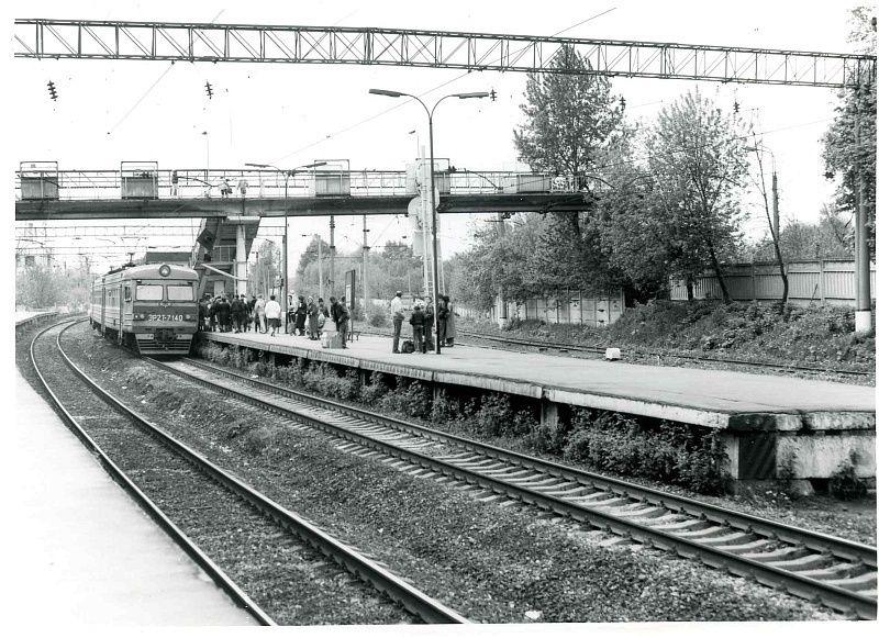 20. ЭР2Т-7140, ст.Кунцево. 1992  год.