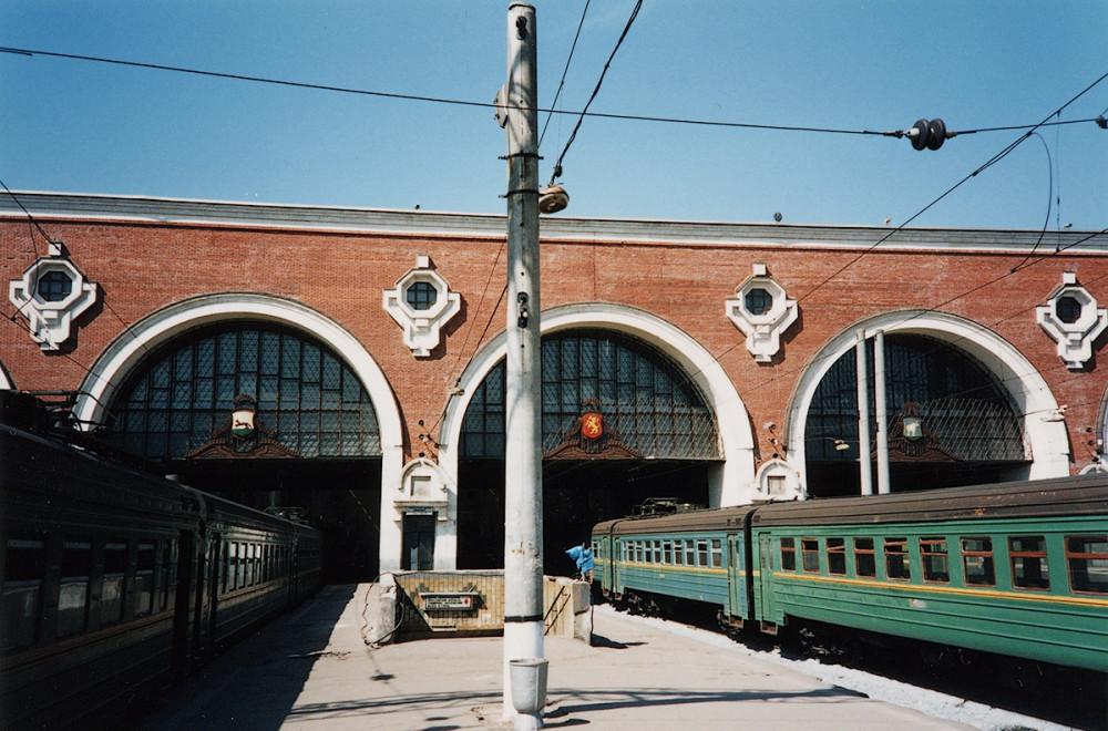 37. Казанский вокзал, пригородные поезда, 1993-1995 гг.