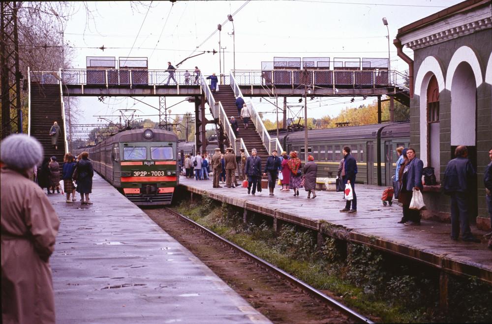 93. Платф.Никольское Мск ж.д., осень 1991 года