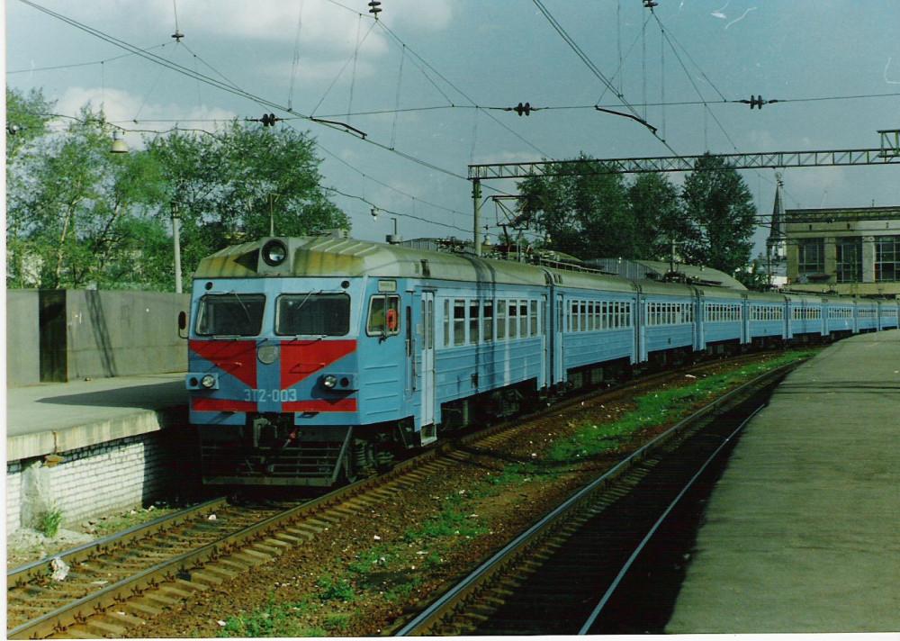 10. ЭТ2-003, ст.Москва-Окт., 1995 год.