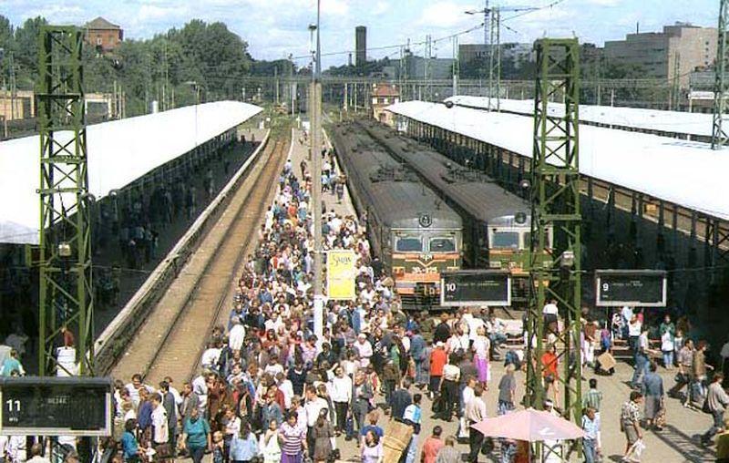 18. Ярославский вокзал, 1996 год.