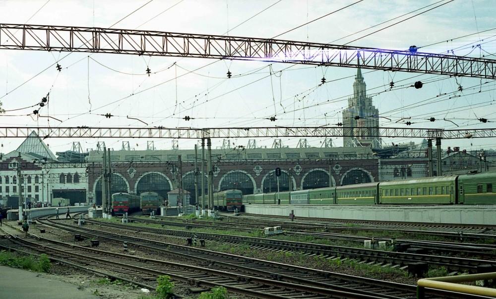 123. Станция Москва-Пасс.-Казанская, август 1997 год.