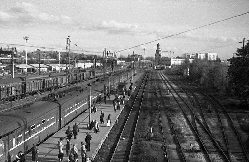 52. Станция Москва-Товарная-Курская, сентябрь 1991 год.