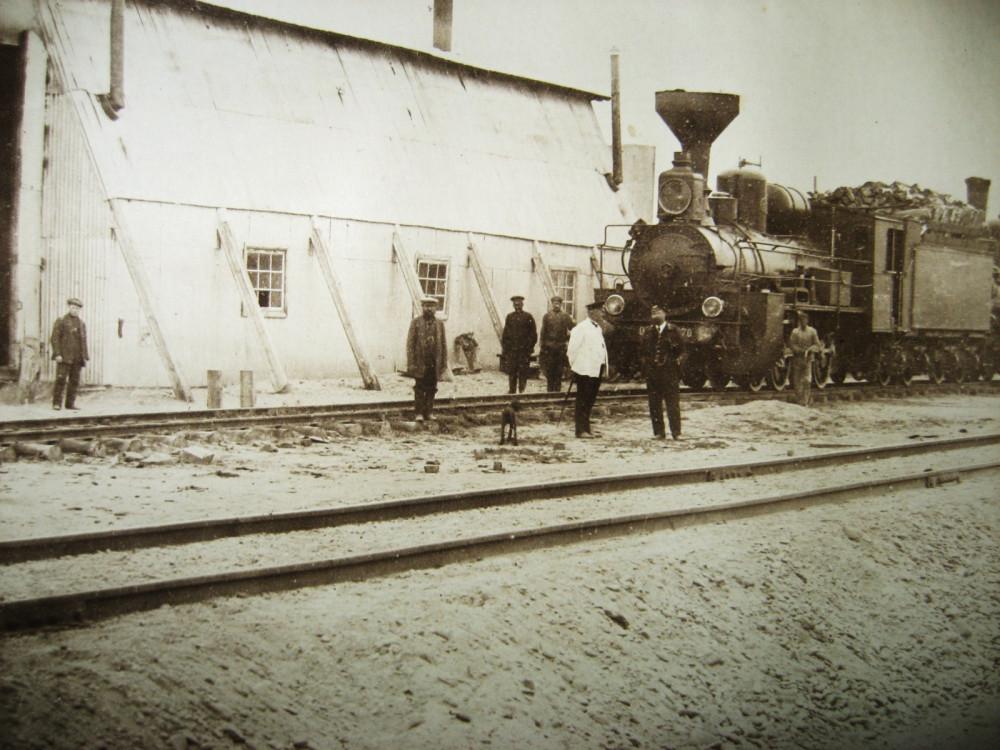 149. Станция Алексеевск. Паровозное депо.