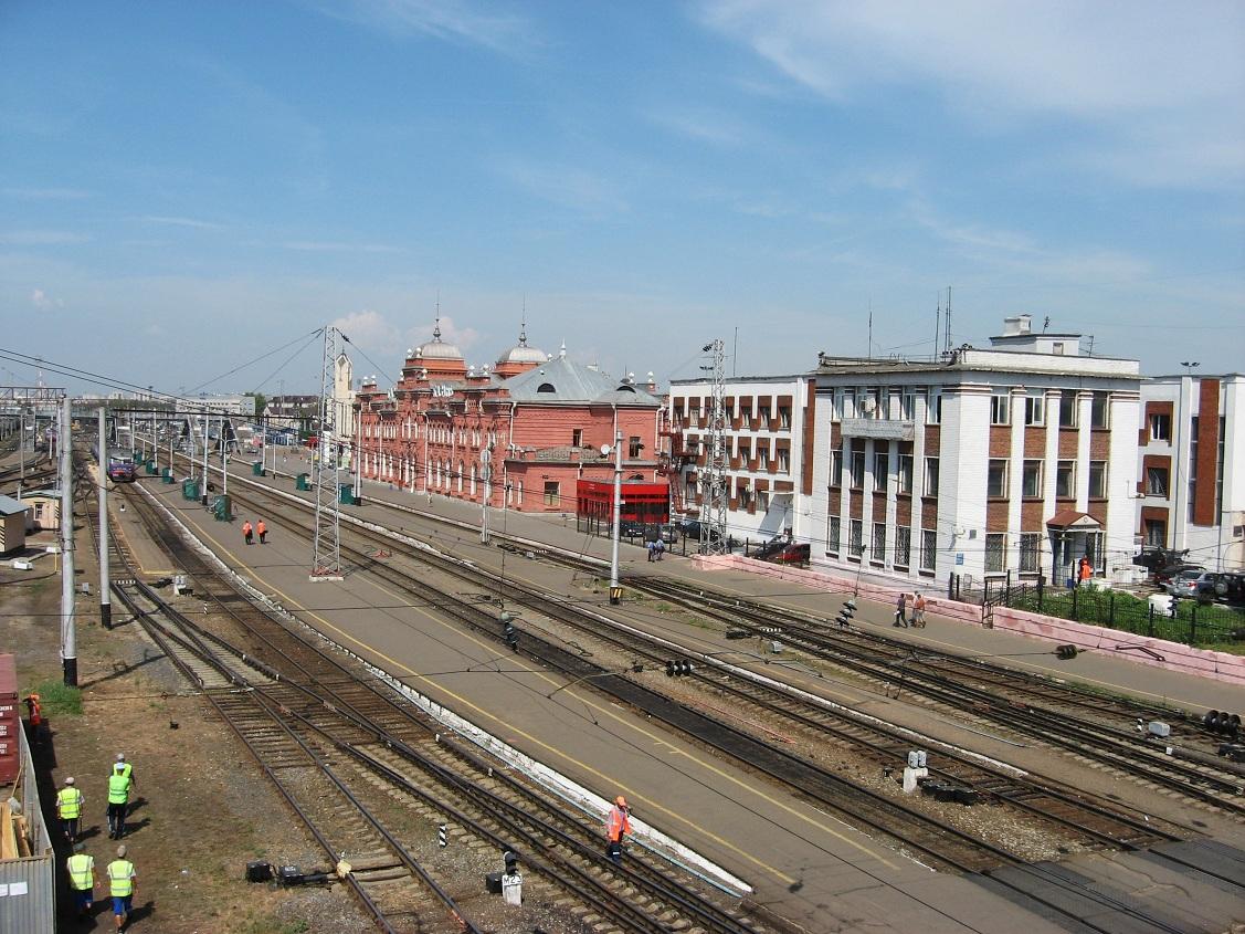 1. Станция Казань.