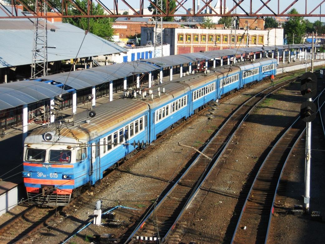 4. ЭР9Е-615, ст.Казань, Восточная платформа.
