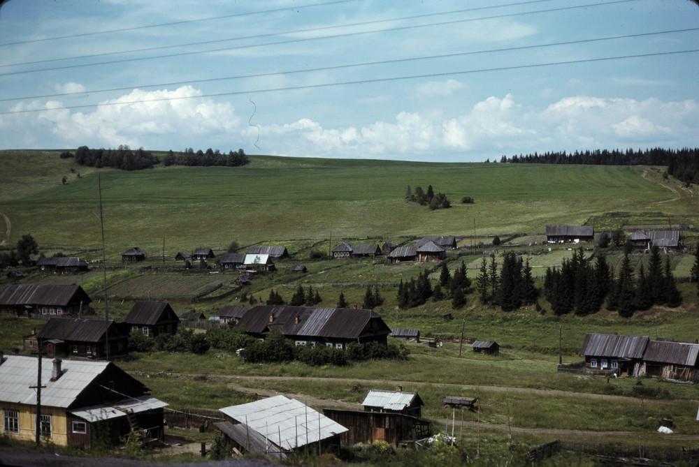 11. Между Пермью и Свердловском. Транссиб. 1979 год.