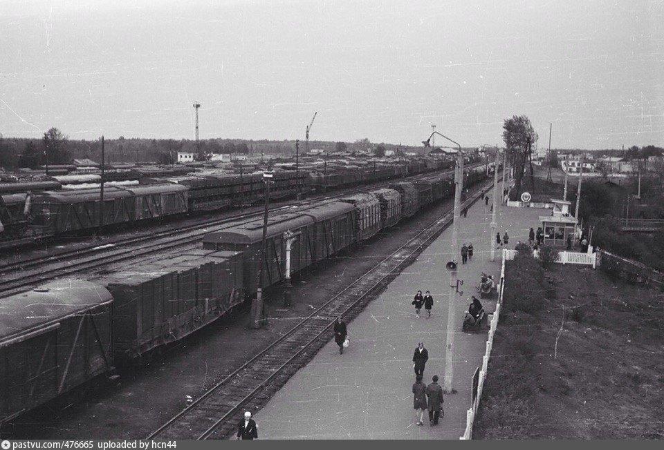 64. Ж.д.станция Арзамас-II, 60-е годы