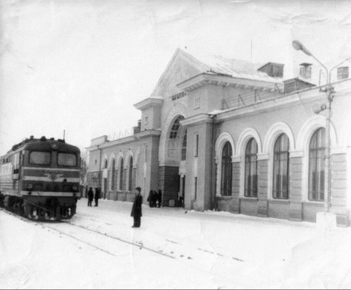 118. Станция Канаш, 1970 год.