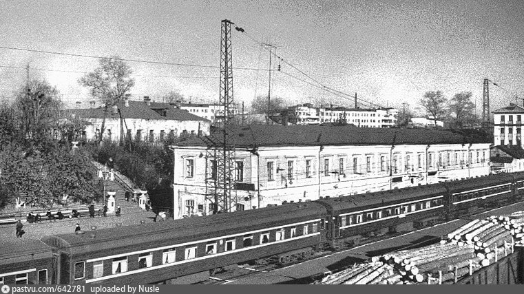 14. Ж.д.станция Ковров Гор.ж.д., 60-е годы.