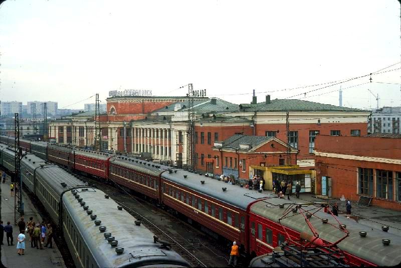 56. Станция Свердловск-Пасс., 1975 год.